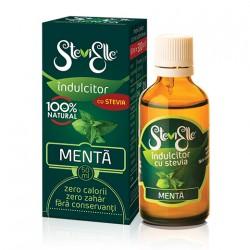 Îndulcitor din Stevia cu aromă de Mentă