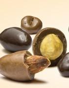 Drajeuri de migdale învelite în ciocolată belgiană