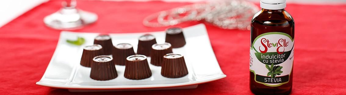 Îndulcitori cu Stevia, zero zahăr zero calorii! O picătură este echivalentă cu o linguriță de zahăr